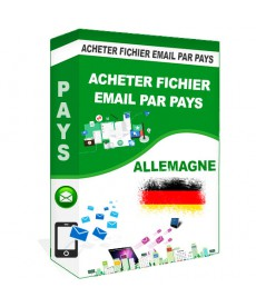 Acheter Base De Donnee Email Pays Allemagne qualifie B2B - Pack1