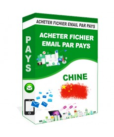Acheter Base De Donnee Email Pays Chine qualifie B2B - Pack1